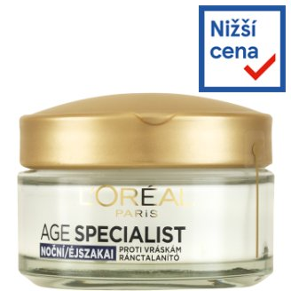 image 1 of L'Oréal Paris Age Specialist 45+ Firming Anti-Wrinkle Night Care 50ml