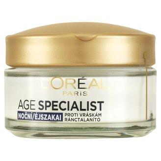 L'Oréal Paris Age Specialist 45+ zpevňující péče proti vráskám noční 50ml
