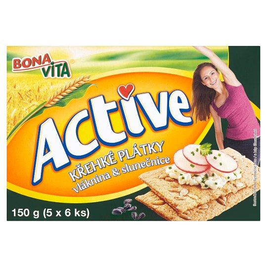 Bona Vita Active Fragrant Slices Fiber & Sunflower 150g