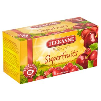 TEEKANNE Superfruits, World of Fruits, 20 sáčků, 45g