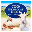 Tesco Fresh Goat Cheese 80g
