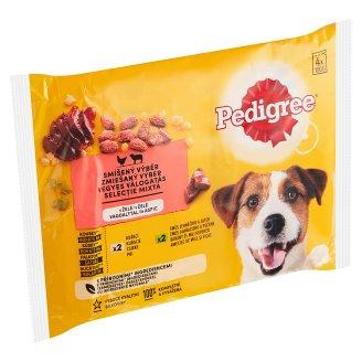 Pedigree Vital Protection S kuřecím a s jehněčím v želé 4 x 100g