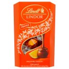 Lindt Lindor Orange Milk Chocolate Truffles with Smooth Melting Filling 200g