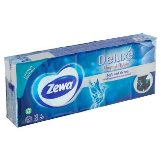 Zewa Deluxe Paper Handkerchiefs 10 x 10 pcs