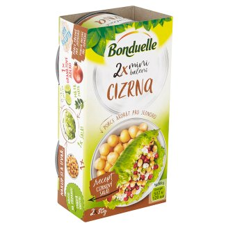 Bonduelle Chickpeas Mini Packing 2 x 80g