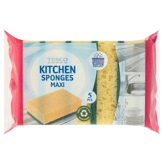 Tesco Kitchen Sponges Maxi 5 pcs