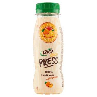 RIO FRESH 100% Juice Fruit Mix with Peaches 200ml
