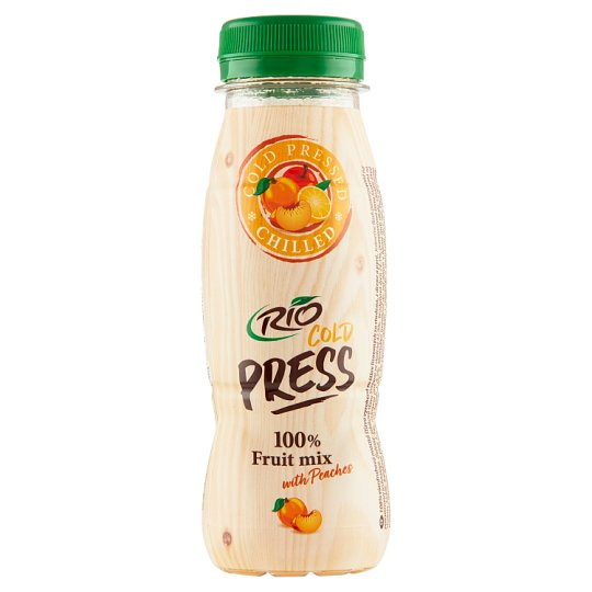 RIO FRESH 100% Juice Fruit Mix with Peaches 200ml