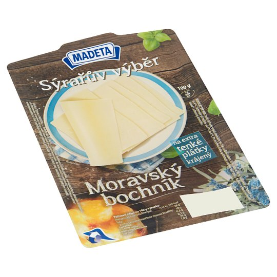 Madeta Moravian Smoked Cheese Slices 100g