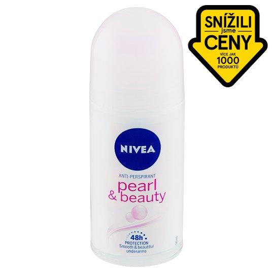 Nivea Pearl & Beauty Kuličkový antiperspirant 50ml