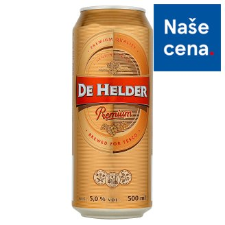 De Helder Premium Lager Light Beer 500ml