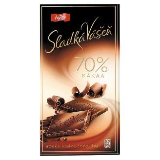 Figaro Sladká Vášeň 70% kakaa hořká čokoláda 100g