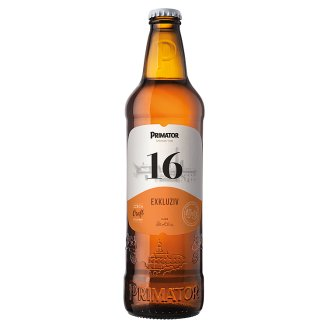 PRIMÁTOR Exclusive 16% Special Light Beer 0.5L