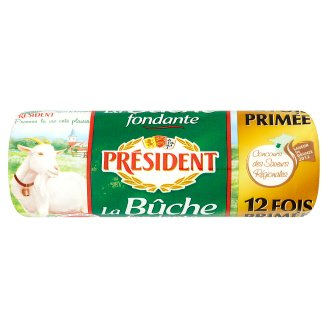 Président La Bȗche Fudge Full Fat Goat Cheese 180g