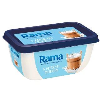 Rama margarín S alpským mlékem 400g