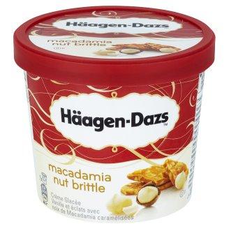 Häagen-Dazs Vanilkový mražený krém smetanový s karamelizovanými makadamovými ořechy 100ml