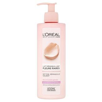 L'Oréal Paris Odličovací mléko s výtažky vzácných květů pro suchou a citlivou pleť 400ml