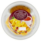 Tesco Cheddar & Pineapple Chutney 70g