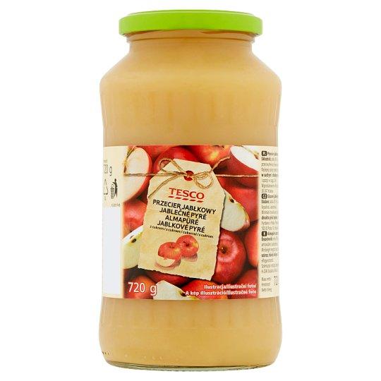Tesco Apple Purée with Sugar 720g