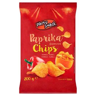 Party Snack Chips Paprika 200g