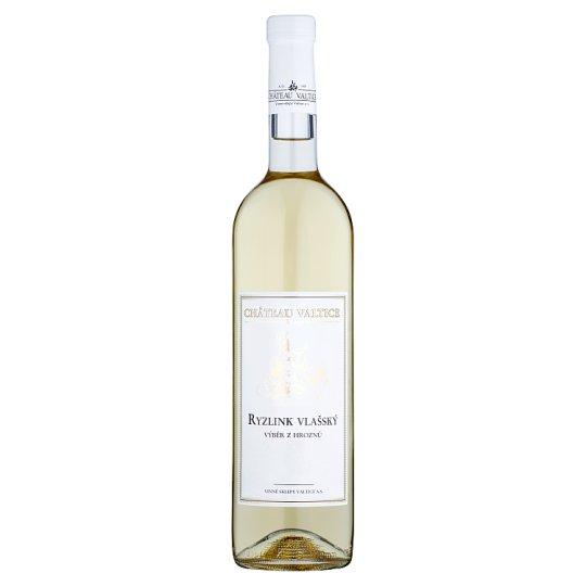 Château Valtice Ryzlink vlašský výběr z hroznů víno s přívlastkem polosuché 0,75l