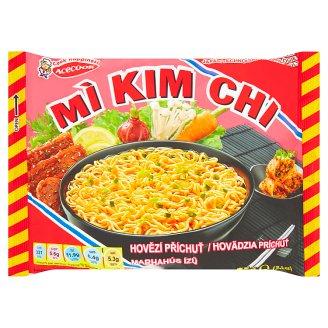 Mi Kim Chi Instantní nudlová polévka hovězí příchuť 75g