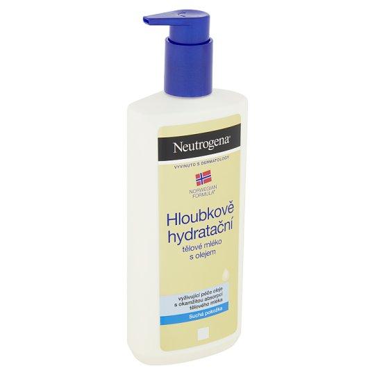Neutrogena Hloubkově hydratační tělové mléko s olejem 400ml