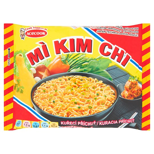 Mi Kim Chi Instant Noodle Soup Mix with Chicken Flavour 75g