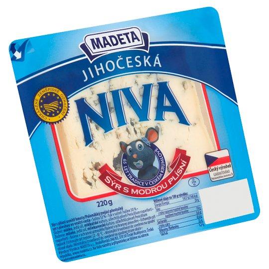 Madeta Jihočeská niva sýr s modrou plísní 220g
