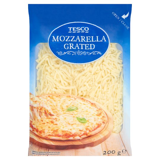Tesco Mozzarella Grated 200g