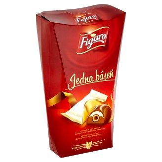 Figaro Jedna báseň bonbony z mléčné čokolády s lahodnou náplní 200g