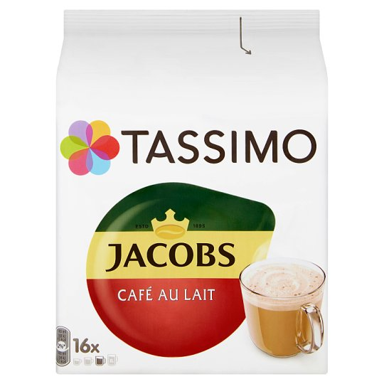 Tassimo Jacobs Café au Lait 16 x 11,5g