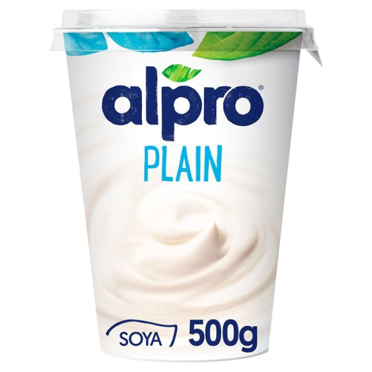 Alpro Natural Soyawith Youghurt Cultures 500g