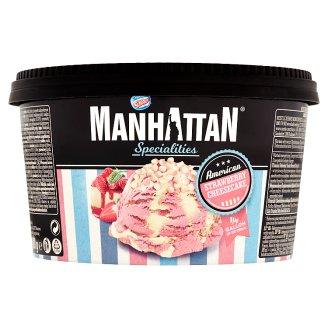 Manhattan Specialities Mražený krém jahodový a mražený krém s tvarohem a se sušenkami cookies 946ml