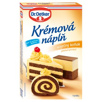 Dr. Oetker Creamy Filling in Powder with Eggnog Flavour 65g