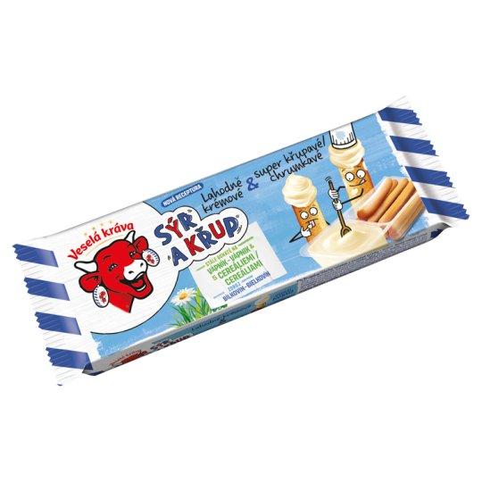 Veselá Kráva Sýr a Křup Delicious Cheese & Crunchy Sticks 35g