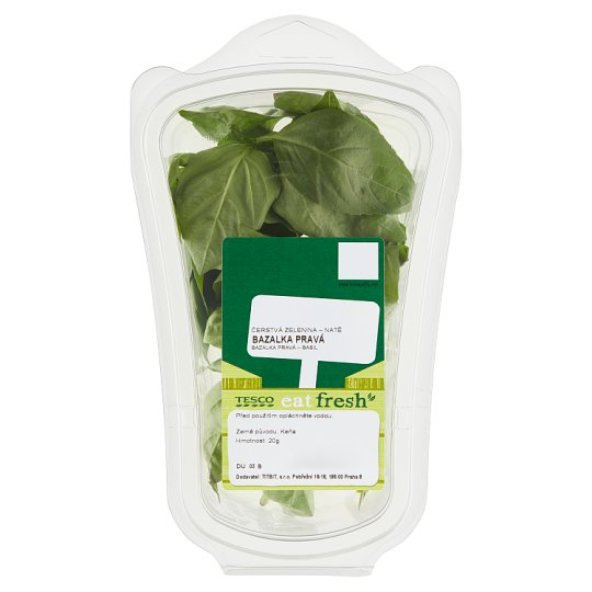 Tesco Eat Fresh Basil 20g
