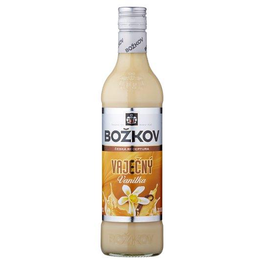 Božkov Egg Liqueur Vanilla 0.5L