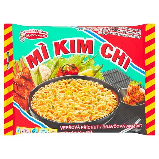 Mi Kim Chi Instantní nudlová polévka vepřová příchuť 75g