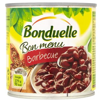 Bonduelle Bon Menu Barbecue Red Beans in Barbecue Sauce 430g