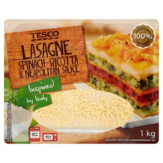 Tesco Lasagne Spinach-Ricotta & Neapolitan Sauce 1kg