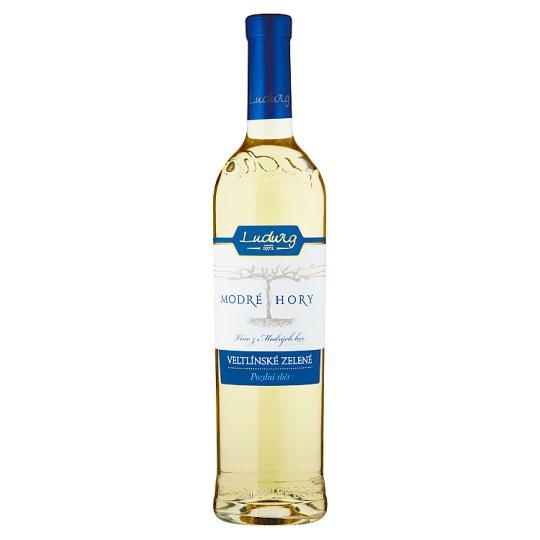 Ludwig Modré Hory Veltínské zelené pozdní sběr víno polosuché 0,75l