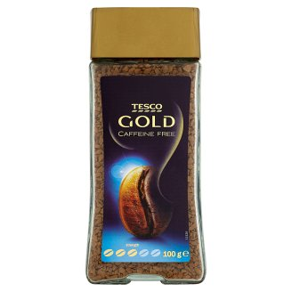Tesco Gold Instant Coffee Freeze-Dried Decaffeinated 100g