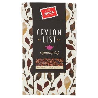 Jemča Ceylon list pravý černý čaj 75g