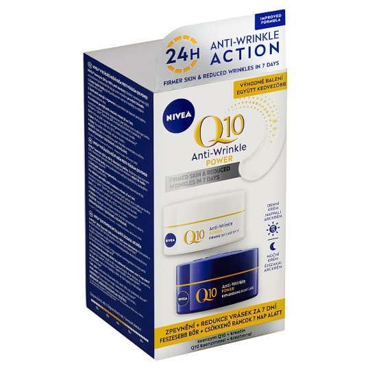 Nivea Q10 Power Anti-Wrinkle Day and Night Care 2 x 50ml