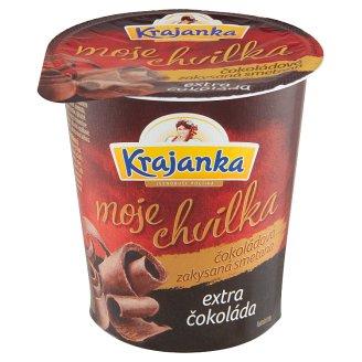 Krajanka Moje Chvilka Chocolate Sour Cream Extra Chocolate 130g