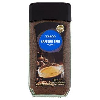 Tesco Original Rozpustná káva sušená bez kofeinu 100g