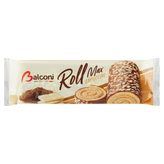Balconi Roll Max with Cappuccino Filling 300g