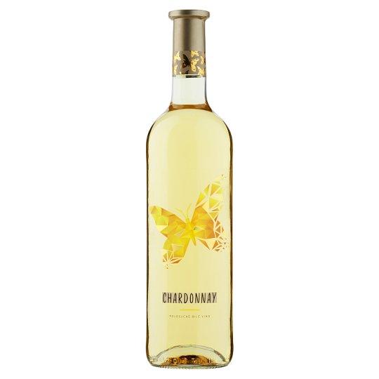 Víno Motýl Chardonnay Dry White Wine 0.75L