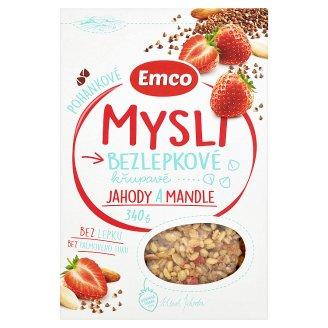 Emco Mysli na Zdraví Pohankové jahoda a mandle 340g